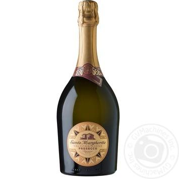 Вино игристое Santa Margherita Brut Prosecco Superiore di Valdobiadene DOCG белое сухое 11,5% 0,75л