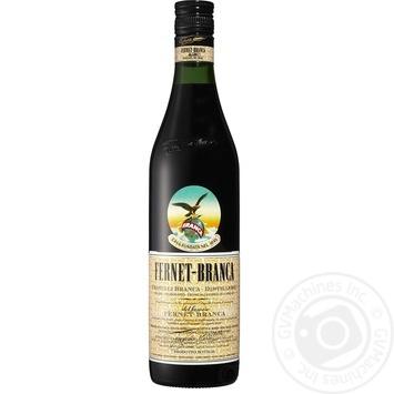 Настоянка гірка Fernet-Branca трав'яна 35% 0,7л - купити, ціни на МегаМаркет - фото 1