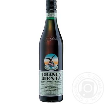 Ликер Branca Menta 28% 0,5л - купить, цены на МегаМаркет - фото 1