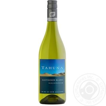 Вино Tahuna Sauvignon Blanc белое сухое 12,5% 0,75л - купить, цены на Novus - фото 1
