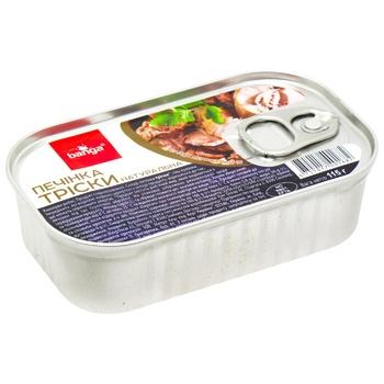 Banga Canned fish cod liver 115g
