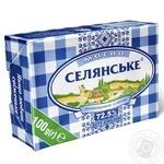 Масло Селянське сладкосливочное 72,5% 100г - купить, цены на Novus - фото 1
