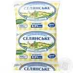 Молоко Селянське ультрапастеризоване 0.5% 900г - купити, ціни на Восторг - фото 1