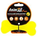 Кость AnimAll желтая 12см