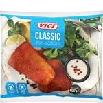 Рыбные порции Vici Classic из рубленого филе в панировке замороженные 400г