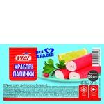Крабові палички Vici з сурімі заморожені 200г