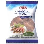 Креветки Vici Lux в панцире варено-мороженые 70/90 1кг