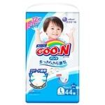 Pants-diapers GOO.N for boys from 9 to14kgs L-size 44pcs