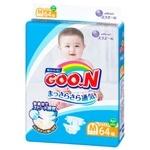 Goo.N Diapers for Children 6-11kg Size M on Velcro 64pcs