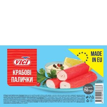 Крабовые палочки VICI замороженные 250г - купить, цены на Восторг - фото 1