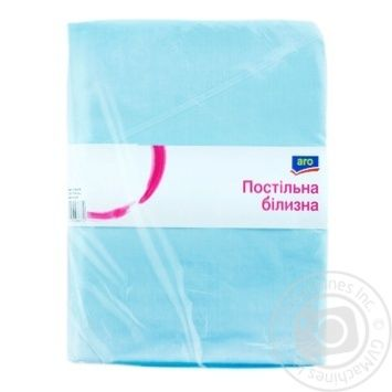 ARO duvet cover with 145х210sm blue color - buy, prices for Metro - image 1