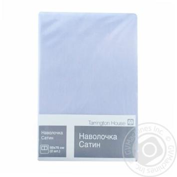 Наволочка Tarrington House блакитна 2шт. 50Х70см - купити, ціни на Метро - фото 1