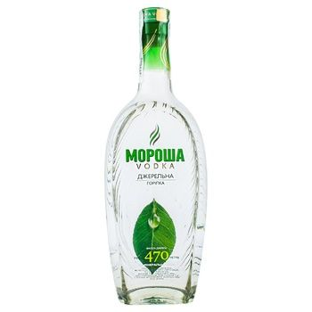 Morosha Springwater Vodka 40% 0.61l - buy, prices for EKO Market - photo 1