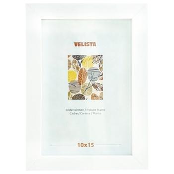 Velista White Frame 10x15cm - buy, prices for Auchan - photo 1