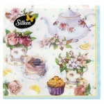 Silken Picture No.1 Paper Table Napkins 33x33cm 2 layers 18pcs - buy, prices for Novus - image 1