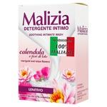 Гель для интимной гигиены Malizia Цветы календулы и лотоса 200мл