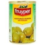 Оливки Fruyper зелені без кісточки 300мл