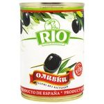 Rio Pitted Black Olives 300g