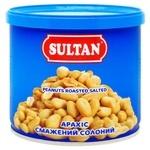 Арахис Sultan жареный соленый 120г
