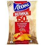 Chips Lux with lamb 150g Ukraine