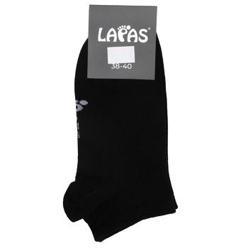 Носки женские Lapas Mini черные размер 38-40