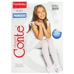 Колготы Conte Elegant Princess детские 40 р.104-110 bianco