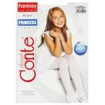 Колготи дитячі Conte Elegant Princess Bianco розмір 140-146