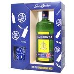 Becherovka Jan Becher yerbal liqueur 38% 0,7l + 1 glass