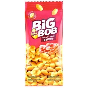 Арахис Big Bob жареный со вкусом бекона 60г