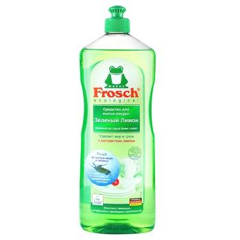 Frosch Dishwashing Liquid Green Lemon 1l - buy, prices for Auchan - photo 1