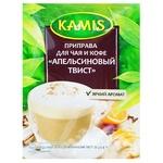 Приправа Kamis к кофе и чаю оранжевый твист 20г