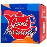 Limited Edition Good Morning Teapot + Cup Set Black 420+340ml