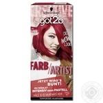 Тонуюча фарба для волосся got2b Farb Artist 092 Перчик Чилі 80мл
