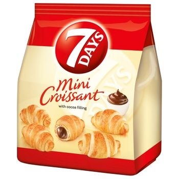 7Days Cocoa Cream Mini Croissant - buy, prices for CityMarket - photo 1