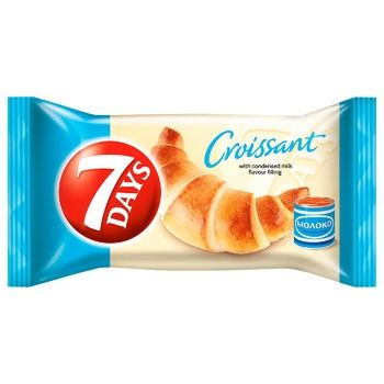 7Days Boiled Evaporated Milk Croissant - buy, prices for CityMarket - photo 1