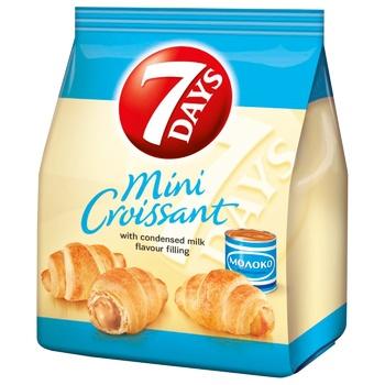 Міні-круасани 7Days з кремом варене згущене молоко 60г