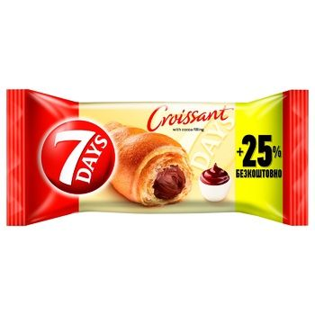 7 Days with cocoa croissant 110g - buy, prices for CityMarket - photo 1