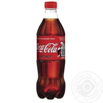 Напиток Coca-Cola сильногазированнй 0,5л - купить, цены на Novus - фото 1