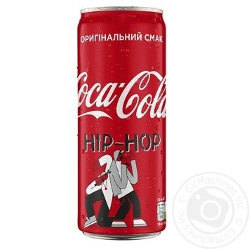 Coca-Cola Strongly Carbonated Drink Can 0,33l - buy, prices for MegaMarket - image 2