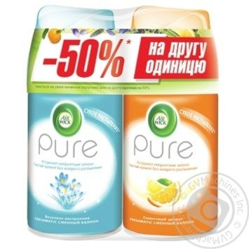 Airwick Spring Mood 250ml + Airwick  Sunny Citrus 250ml Air Freshener - buy, prices for MegaMarket - image 1