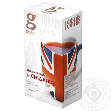 Grace! Black Tea English for breakfast 2g*25pcs - buy, prices for Furshet - image 1