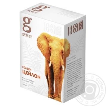 Черный чай Grace! Голден Цейлон листовой 100г - купить, цены на МегаМаркет - фото 1