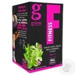 Чай зеленый G'tea Fitness с травами 20шт 1.5г
