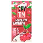 Конфеты натуральные Фрутим Сочная Вишня яблочно-вишневые без глютена и сахара 75г