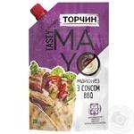 Майонез Торчин Tasty Mayo с соусом барбекю 200г