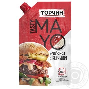 Майонез ТОРЧИН® Tasty Mayo с кетчупом 200г - купить, цены на МегаМаркет - фото 1