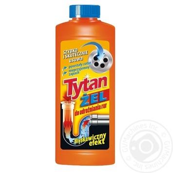 Засіб Tytan для прочищення труб 0.5л