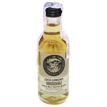 Loch Lomond Original Whiskey 40% 0.05l - buy, prices for CityMarket - photo 1