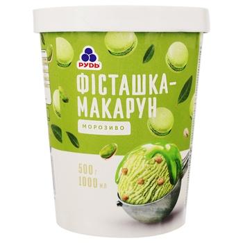 Rud Pistachio-Macaroon Ice Cream 500g - buy, prices for CityMarket - photo 1