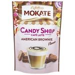 Кофейный напиток Mokate Candy Shop American Brownie Латте растворимый 110г